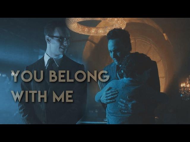 Edward, Oswald Martin (AU) / GOTHAM / I Belong With You / Nygmobblepot