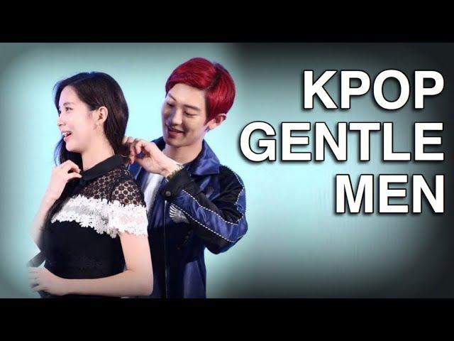 Kpop Male Idols Helping Protecting Female Idols PART 2