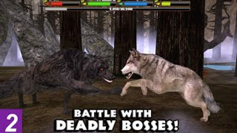 ULTIMATE WOLF SIMULATOR - EPIC DEADLY BOSS FIGHTS --Compatible with iPhone, iPad, and iPod touch.