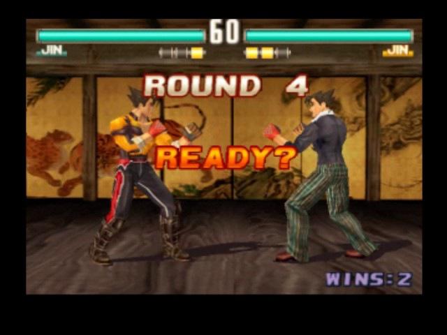 Tekkken 3 Online 134 (Jin,Ogre) vs ULTIMAT RATIO (Jin,Paul)
