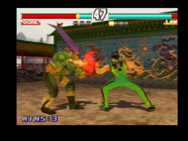 Tekken 3 Online Мapuwka,Мамочка (Ogre) vs Prof Hkn (LAW) 2017