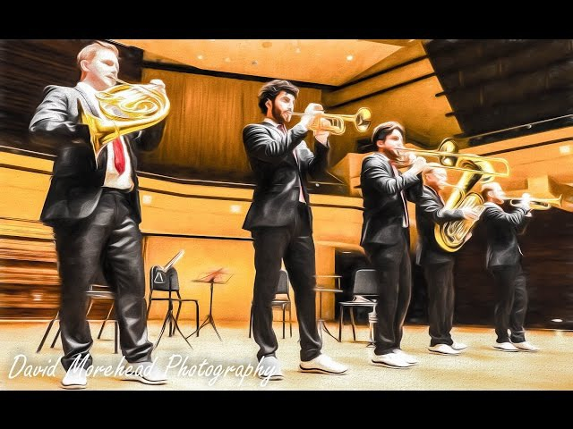 Canadian Brass, Wentz Hall, Naperville, Illinois, December 6 2015, 2pm show