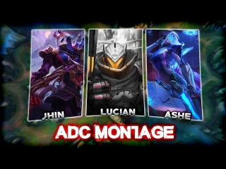 ADC 2k17 - Best ADC Plays Compilation (Lucian, Jhin, Ashe) | League of Legends