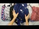Headscarfs New Summer Mix 3 kg микс платков сток 1 пакета