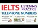 IELTS Listening Practice Telephone Numbers
