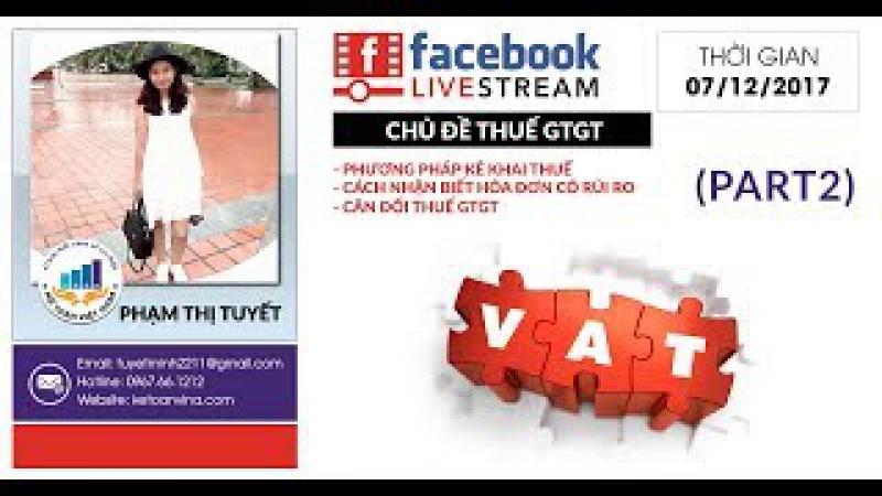 Hỏi đáp: Chủ đề thuế giá trị gia tăng (Part 2) | Ketoanvina.com