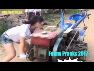 If you want try not to LAUGH HARD, Funny pranks fail compilation - Whatsapp Funny videos Vines 2017