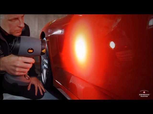 Swissvax Nantes - Detailing of Ferrari F430