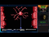 Life Force Salamander прохождение 100 Игра на (Dendy, Nes, Famicom, 8 bit) 1986. Стрим HD RUS