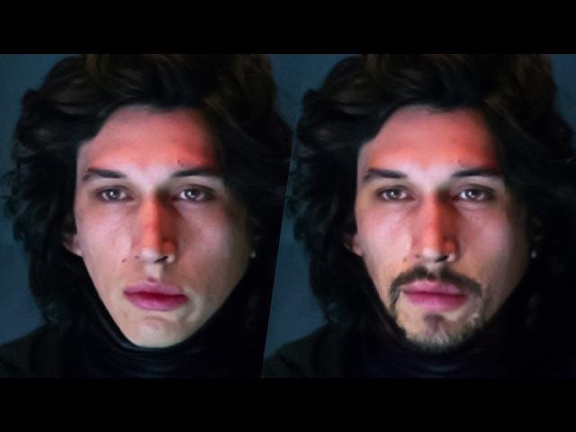 Как борода меняет образ персонажи звездных войн с бородой
