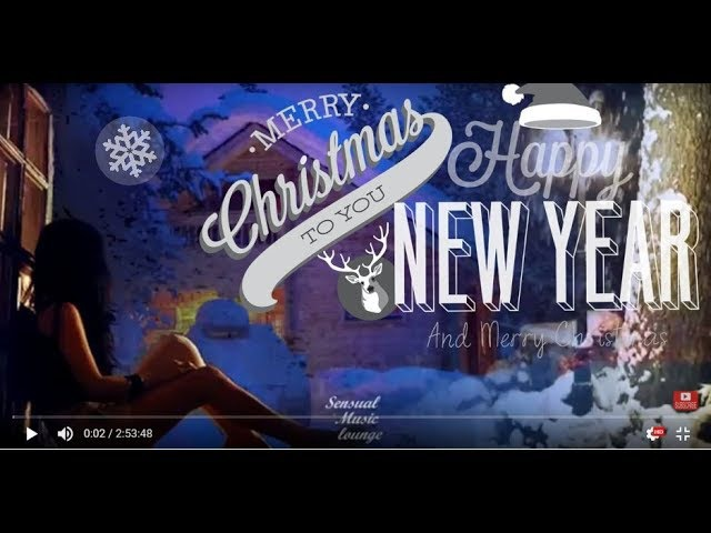3 Hour Merry Christmas Music 2019 Hits Holiday Scenery,Saxophone Top Christmas Songs Instrumental