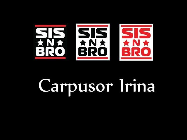 Sis n Bro I'm a Choreographer Carpusor Irina Grand Pri