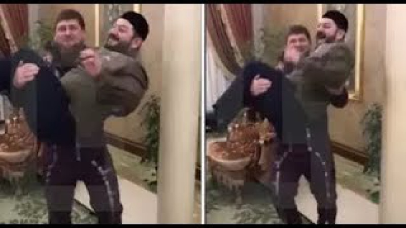 М. Галустян и Р.Кадыров Видео репетиции Я ржал целый час