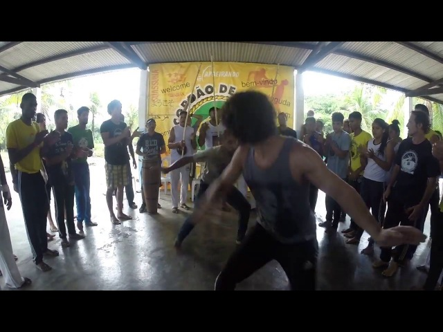 Capoeirando 2018. Roda do Mestre Canguru. Parte 8