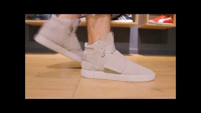 ONFEET Adidas Tubular Invader Strap Vapor Grey (BY3633) | sneakers.by