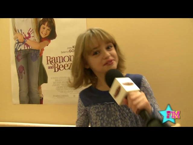 Ramona Beezus' Joey King Visits Mattel Children's Hospital