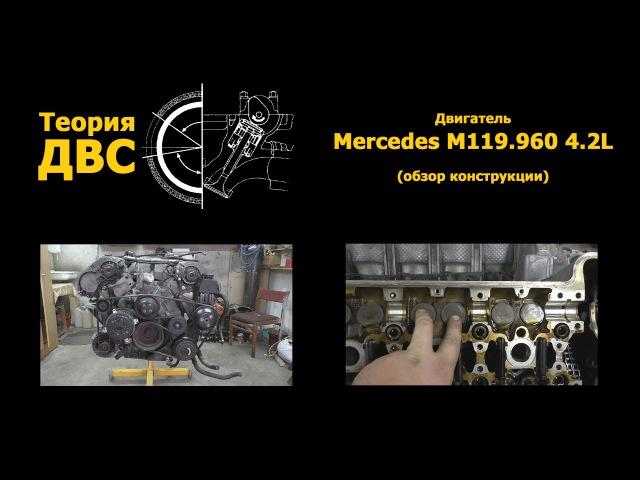 Теория ДВС: Двигатель Mercedes M119.960 4.2L (обзор конструкции)