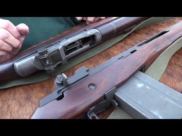 M1 Garand vs M14 M1A