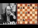 Mikhail Tal's Absolutely Insane Game With Two Hanging Queens