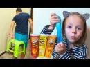 Розыгрыши для сестры и брата СУПЕР Шутки ШОК молоко Табуретка на попе New Kids