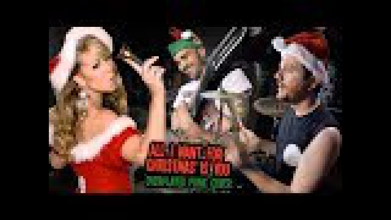 All I Want For Christmas is You (Mariah Carey Overplayed Punk Cover) - Kye Smith Feff