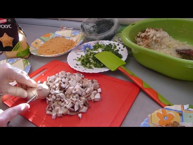 Постный семейный обед/Сюжет по ТВ/Капустные котлеты с геркулесом