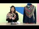 Xale em Crochê com Cisne Vip Cristina Amaduro