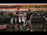 I MET A GIANT, 7'2 INSANE! CHEST DAY