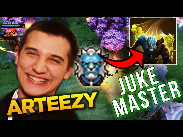 Arteezy Juke Master Phantom Lancer - 2 Games High Ranked Dota 2
