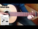 Как играть Oasis- Wonderwall на акустической гитаре