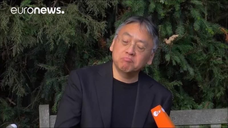 Кадзуо Исигуро - лауреат Нобелевской премии по литературе