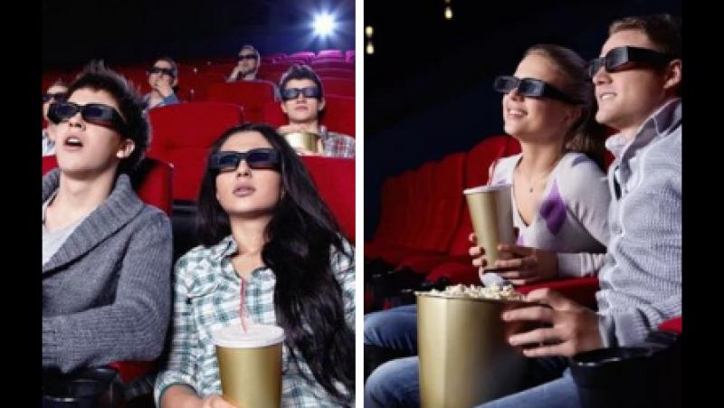 2 билета в кино на любой фильм