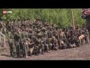 Донецк.11 мая,2017.Юлия Чичерина выступила перед бойцами ДНР на День Республики.