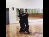 Оксана Федорова танцует танго