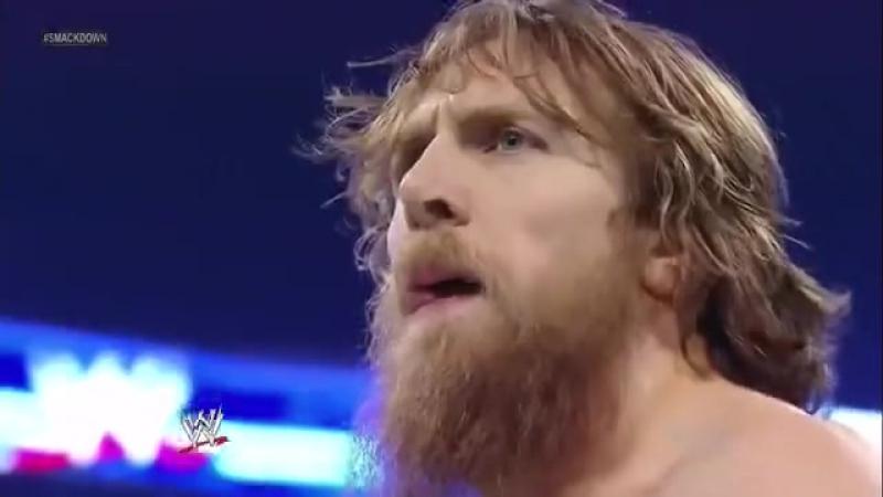 WWE Smackdown 16.08.2013 Дениал Браин против Бед Ньюс Баррета.Бой без дисквалификации