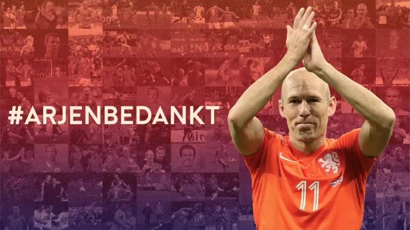 Thank you and goodbye Arjen ! KNVB