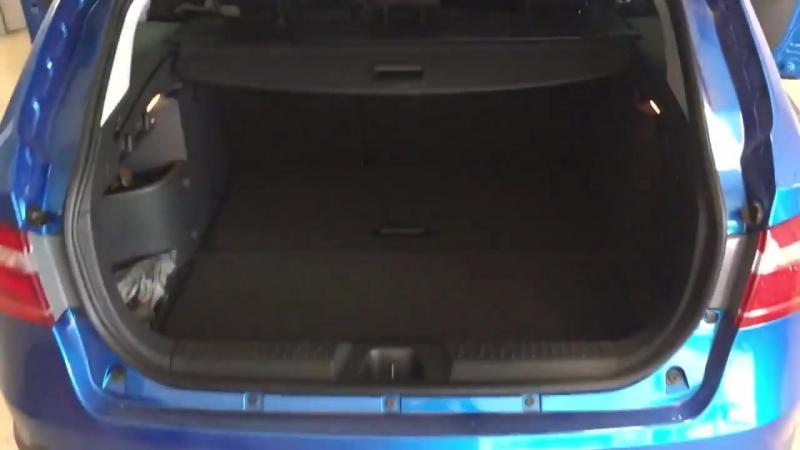 Первый видеообзор багажника универсала Лада Веста Кросс ¦ Lada Vesta SW Cross ¦