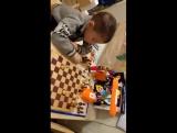 Тёмка и шахматное поле.