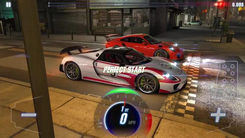 Porsche in CSR Racing 2