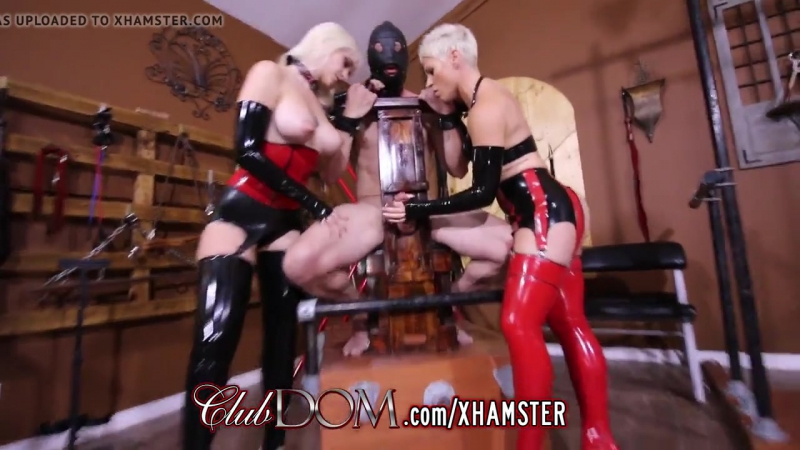 clubdom mistress whip and cane before milking 720p