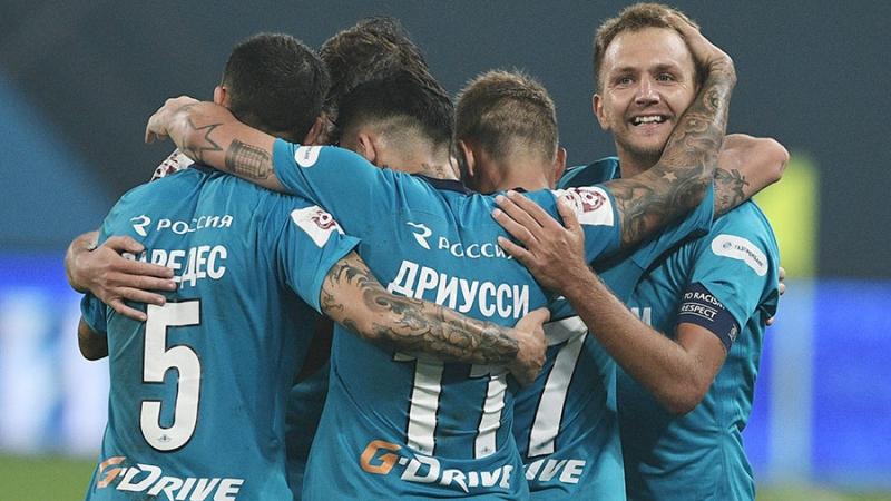 Чемпионат России 2017-18 04-й тур Зенит - Спартак 5 - 1 Life78