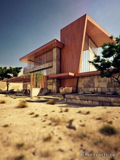 Коттедж Desert Rose от IK-architects