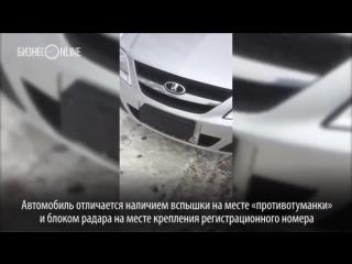 ГИБДД Татарстана испытывает систему измерения скорости «Робот» на базе LADA Largus
