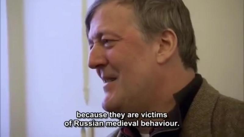 Logical fallacies of Deputy Milonov and Stephen Fry