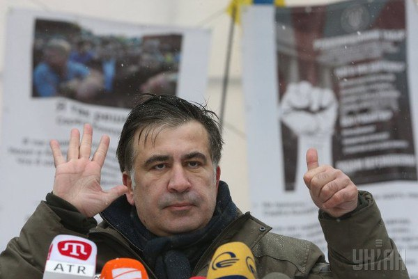 У Саакашвили есть запасной план - Сакварелидзе