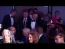 2017 BAFTA Scotland где сидят Сэм и Катрина (с пометками)