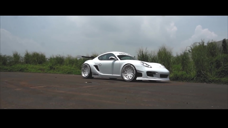 Pandem Porsche 987.2 PDK Cayman w⁄ ARMYTRIX Exhaust x Dynamic Motion Media