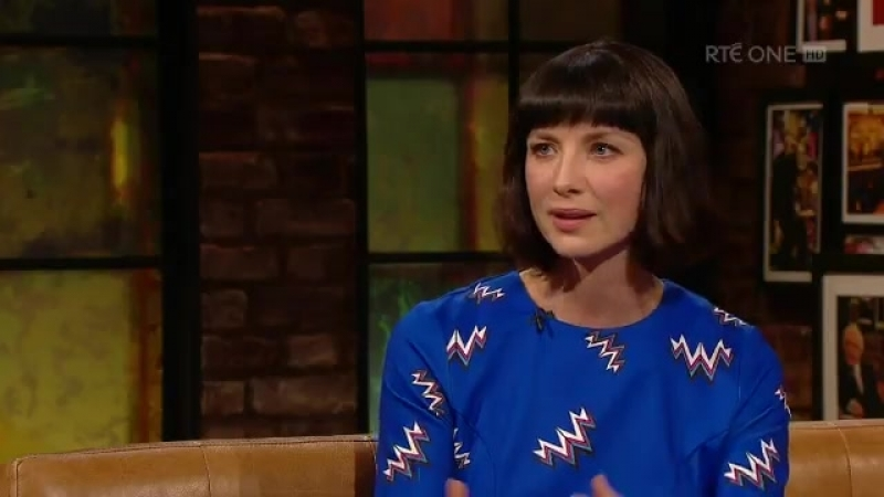 Caitriona Balfe on playing Clair on the Late Night Show in Dublin