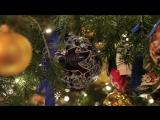 С Новым Годои и Рождеством - красиво . ёлка - 1 минута