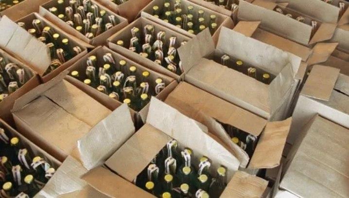 ВКалужской области изъяли 11 000 литров алкоголя